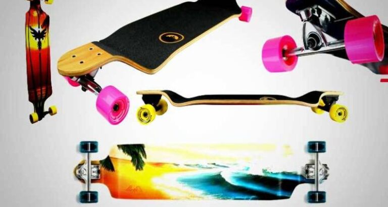 Yocaher Punked Lowrider Drop Down Through Longboard Review