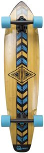Quest Totem Natural Pintail Longboard