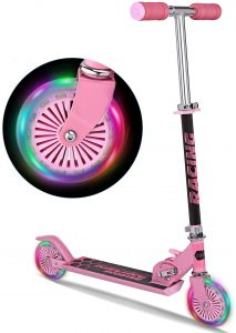 WeSkate Scooter for Kids with LED Light