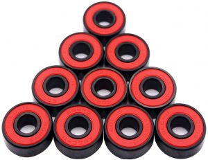 Bearings by Fireball Dragon for longboards