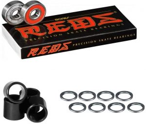 Skateboards bearings by Yellow Jacket